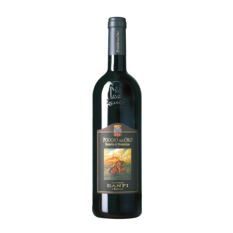 Brunello di Montalcino Riserva Poggio all\'Oro Banfi 2007 0,75 lt.