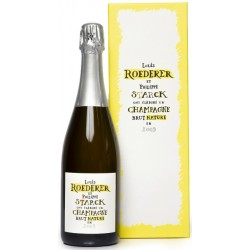 Champagne Brut Nature Philippe Starck Louis Roederer 2009 0,75 lt.