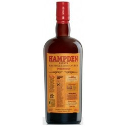 Rum Overproof Hampdem 0,70 lt.