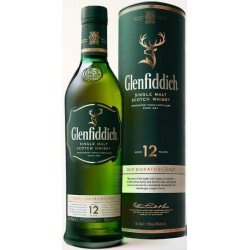 Whisky 12 Years Glenfiddich 0,70 lt.