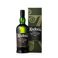 Whisky Ardbeg 10 Years olt 0,70 lt.
