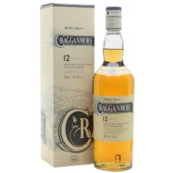 Whisky Cragganmore 12 Years  Old 0,70 lt.