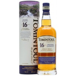 Whisky Single Malt 16 Years Tomintoul 0,70 lt.