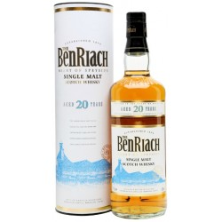 Whisky Single Malt 20 years  Ben Riach 0,70 lt.