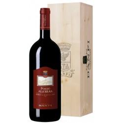 Rosso di Montalcino Poggio alle Mura Banfi 2017 1,5 lt. Magnum Legno