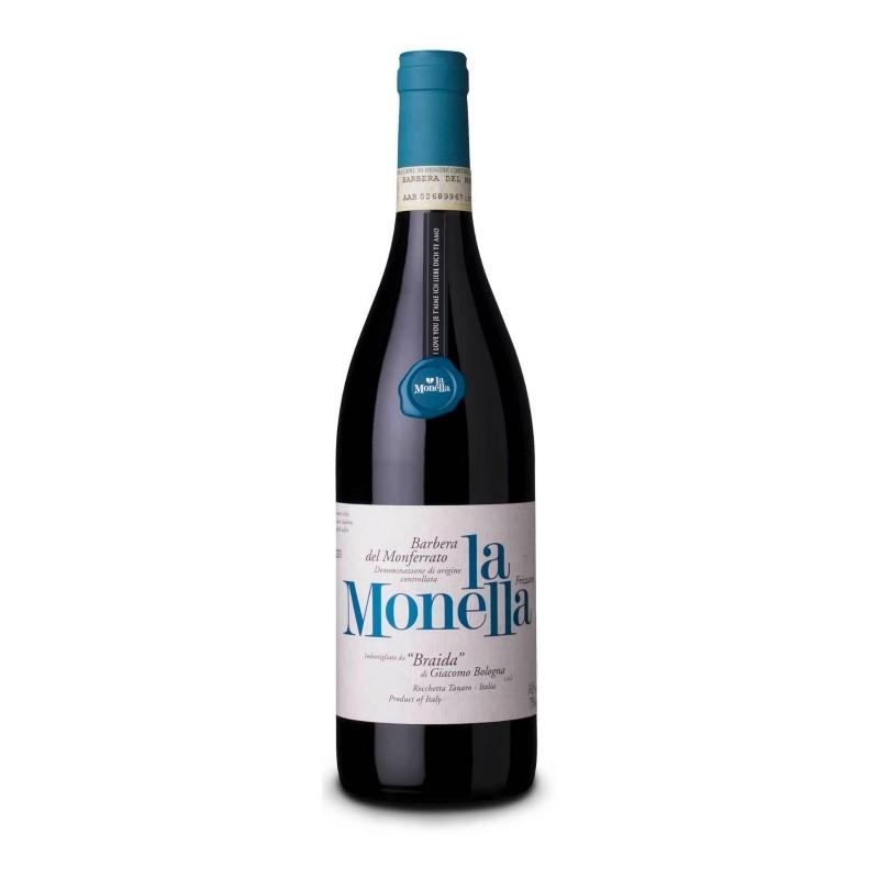 Barbera del Monferrato Frizzante La Monella Braida 2018 0,75 lt.
